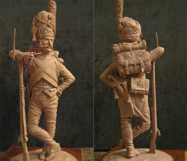 Sculpture: Private, Napoleon's Guard