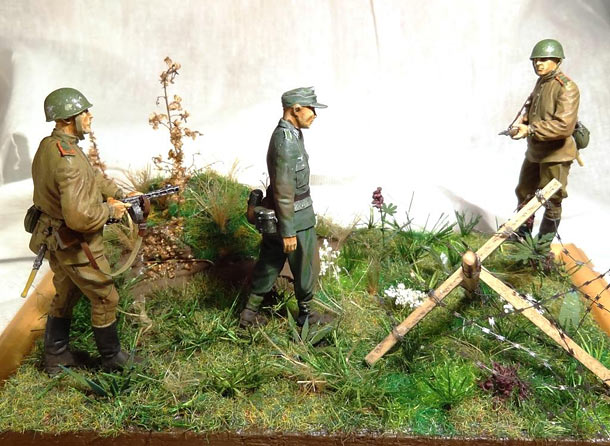 Dioramas and Vignettes: His war is over