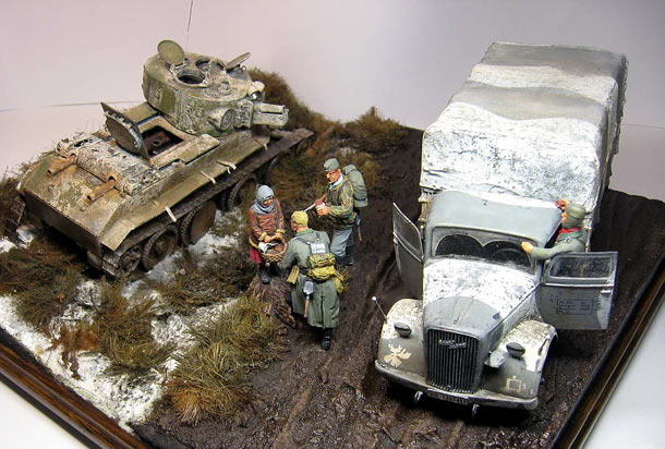 Dioramas and Vignettes: The New Order