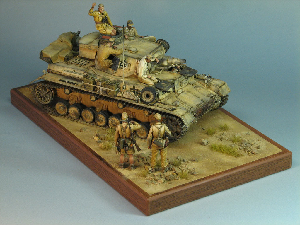 Dioramas and Vignettes: Pz.IV Ausf.E in Africa, photo #1