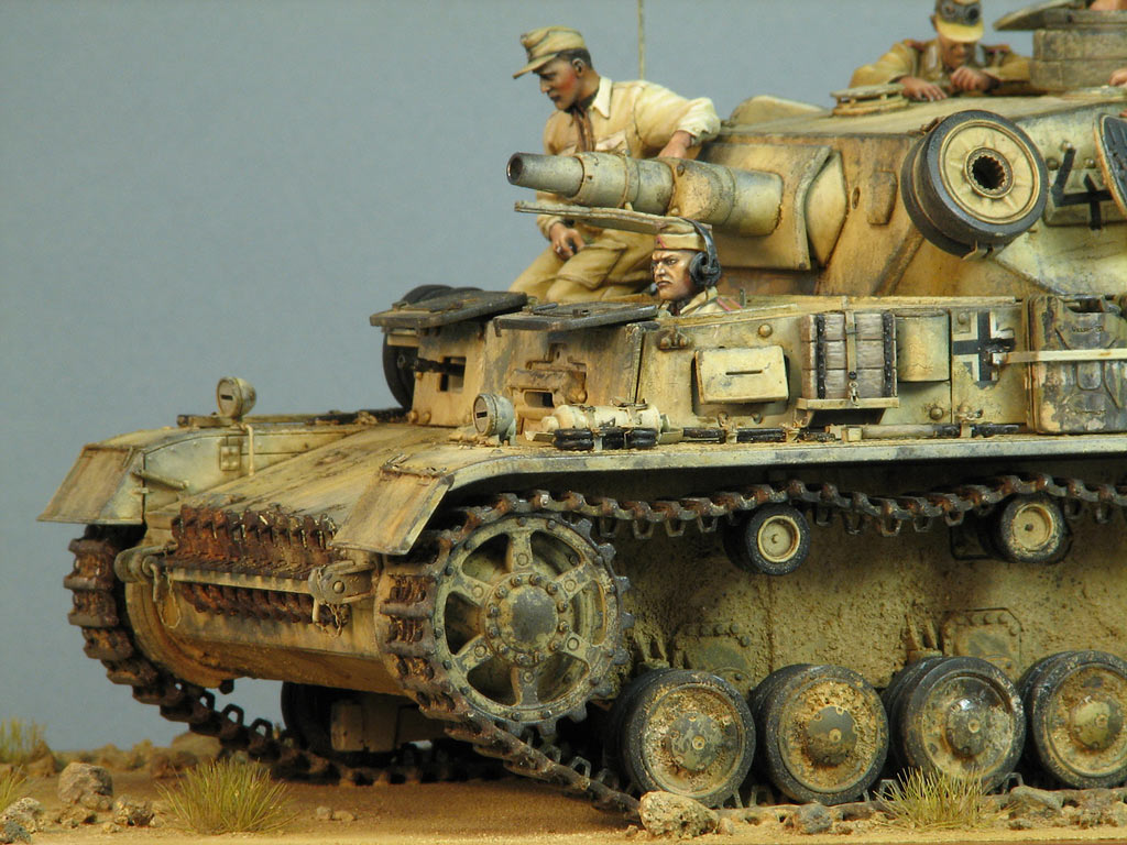 Dioramas and Vignettes: Pz.IV Ausf.E in Africa, photo #11