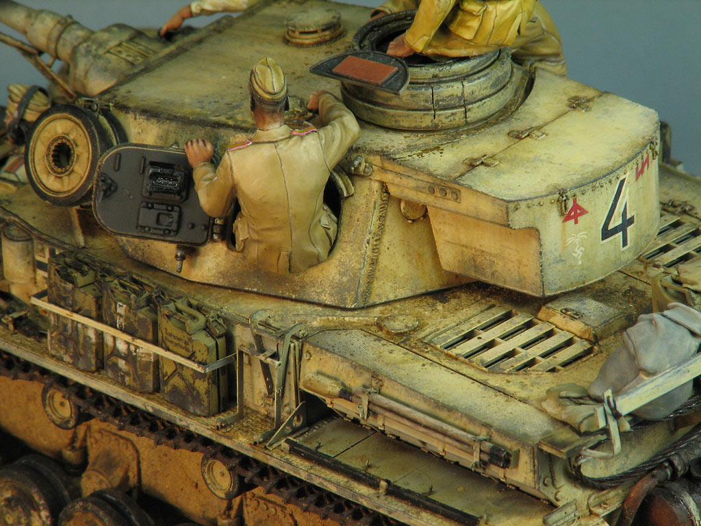 Dioramas and Vignettes: Pz.IV Ausf.E in Africa, photo #12