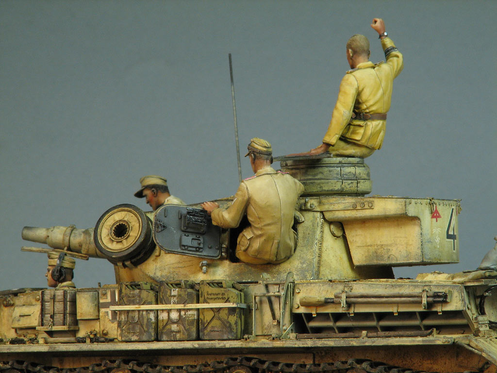 Dioramas and Vignettes: Pz.IV Ausf.E in Africa, photo #13