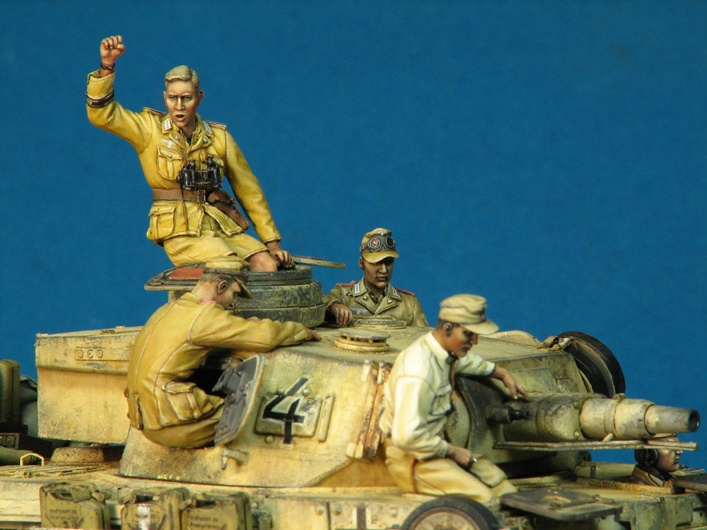 Dioramas and Vignettes: Pz.IV Ausf.E in Africa, photo #14