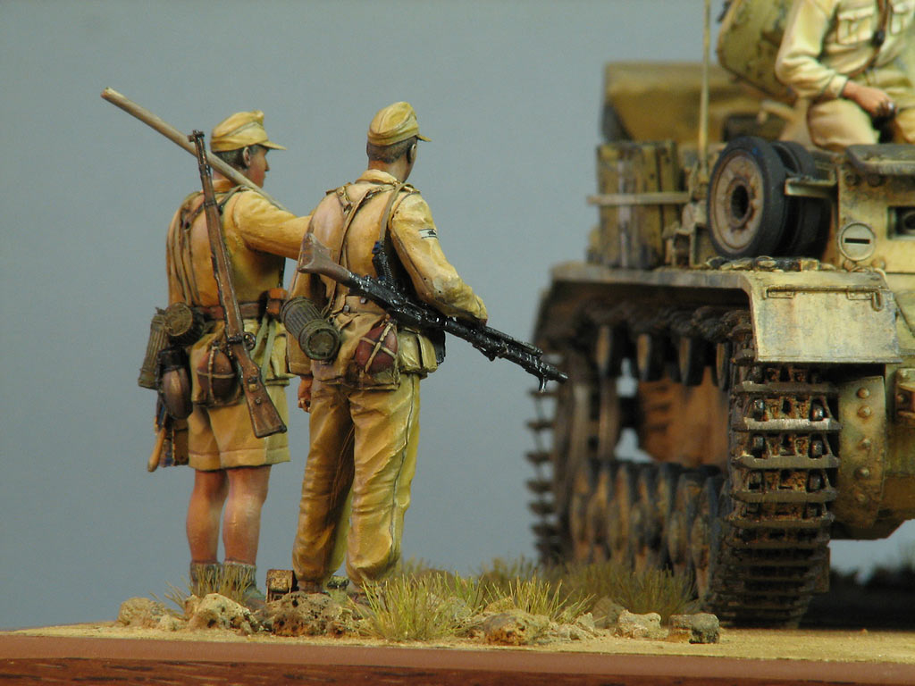 Dioramas and Vignettes: Pz.IV Ausf.E in Africa, photo #15