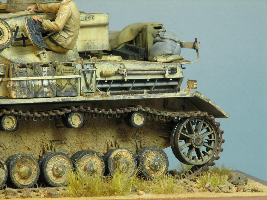 Dioramas and Vignettes: Pz.IV Ausf.E in Africa, photo #16