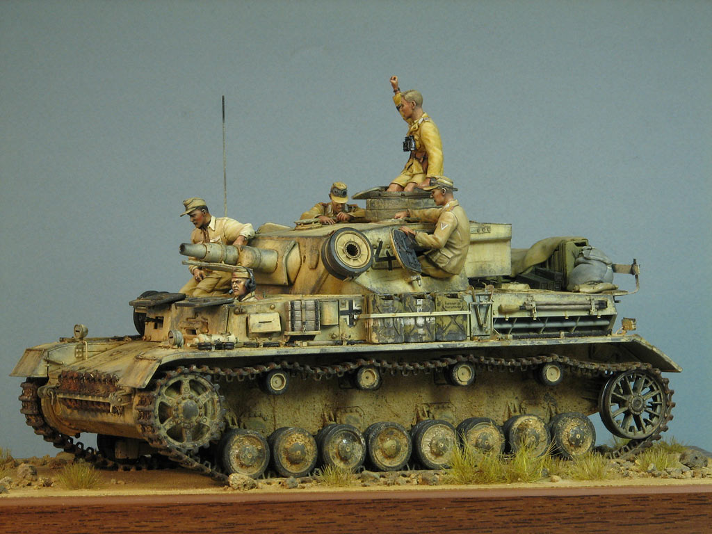 Dioramas and Vignettes: Pz.IV Ausf.E in Africa, photo #3