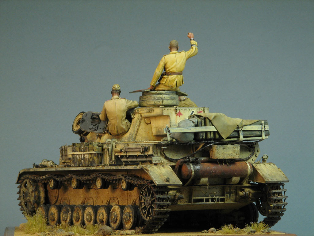 Dioramas and Vignettes: Pz.IV Ausf.E in Africa, photo #5