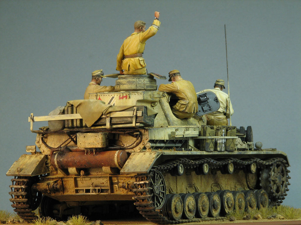 Dioramas and Vignettes: Pz.IV Ausf.E in Africa, photo #7