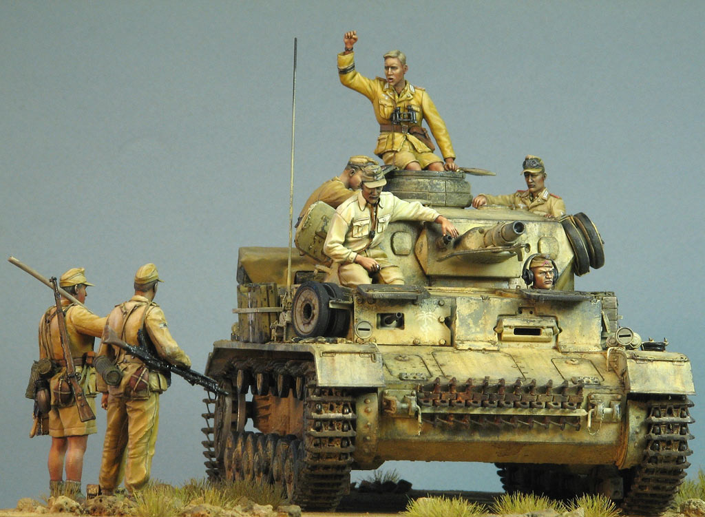 Dioramas and Vignettes: Pz.IV Ausf.E in Africa, photo #8