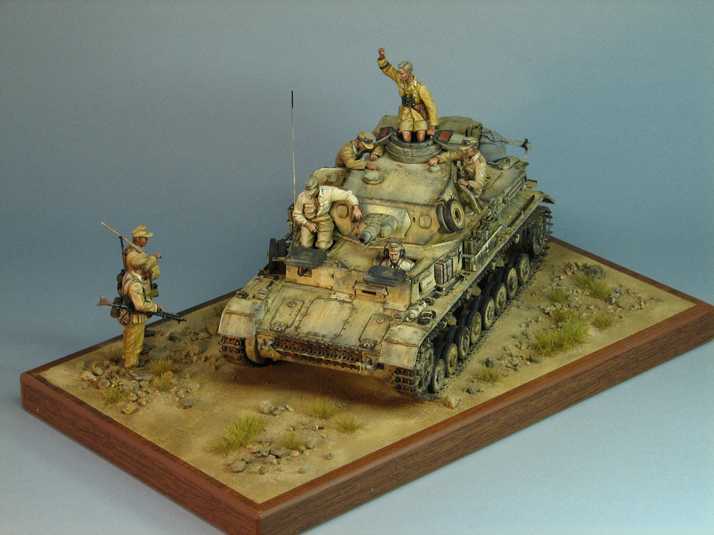 Dioramas and Vignettes: Pz.IV Ausf.E in Africa, photo #9
