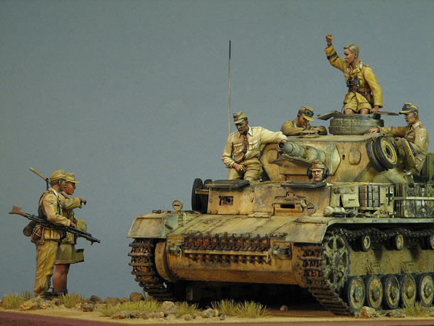 Dioramas and Vignettes: Pz.IV Ausf.E in Africa