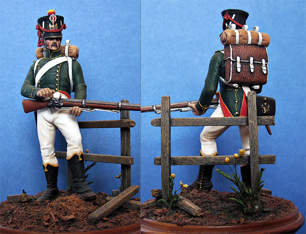 Figures: Flanker-grenadier of Imperial Guard