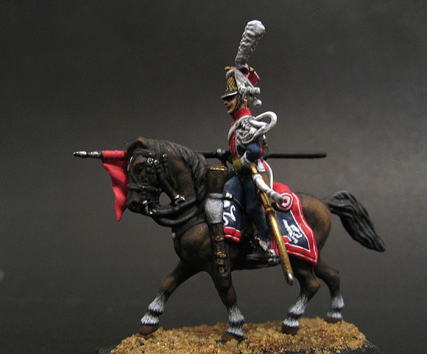 Figures: Chevau-léger lancier polonais de la Garde impériale. 1812