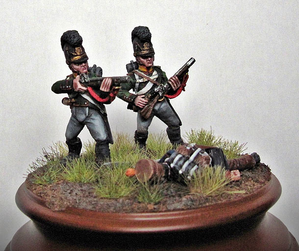 Figures: Bavarian chasseurs, 5th Battalion of light infantry