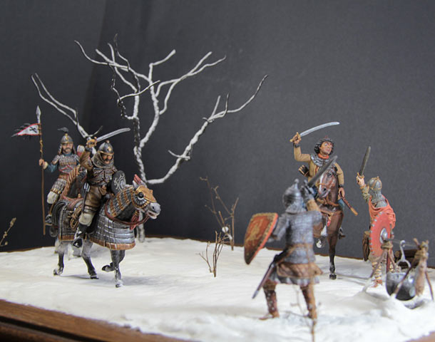 Dioramas and Vignettes: Battle on the Sit river