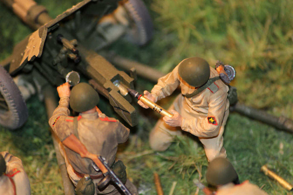 Training Grounds: Soviet 45mm AT gun and crew, photo #11