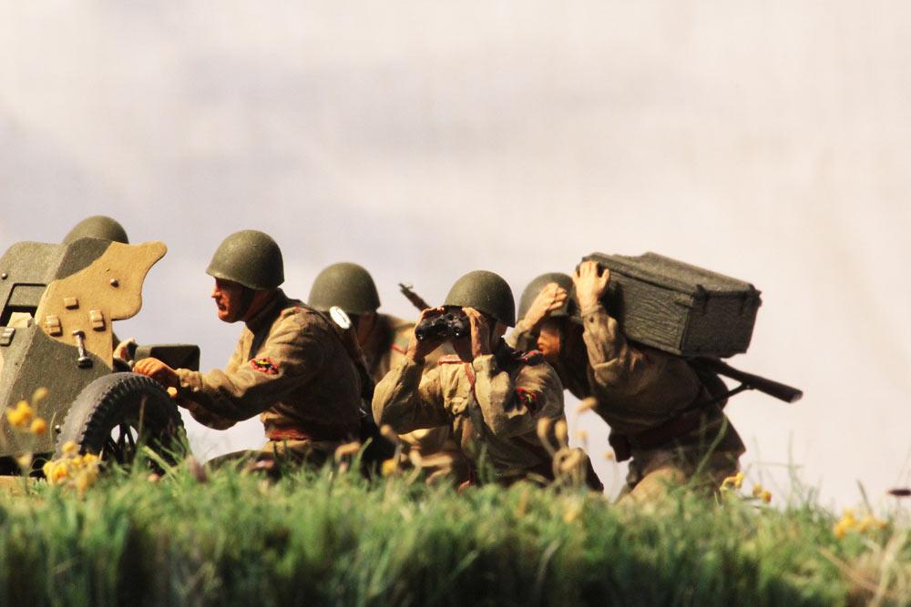 Training Grounds: Soviet 45mm AT gun and crew, photo #18