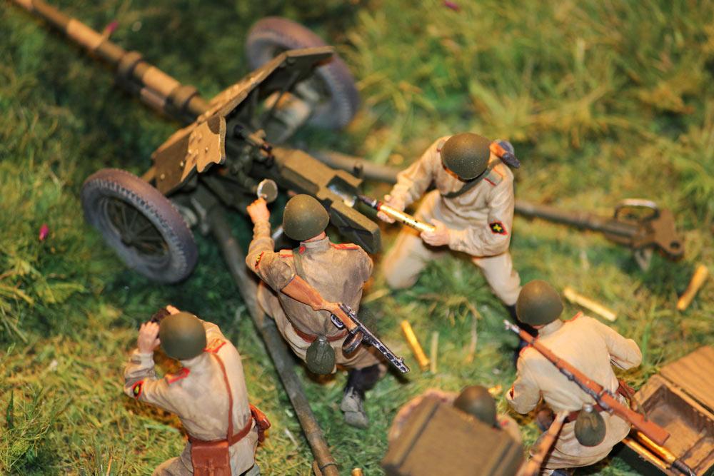Training Grounds: Soviet 45mm AT gun and crew, photo #19