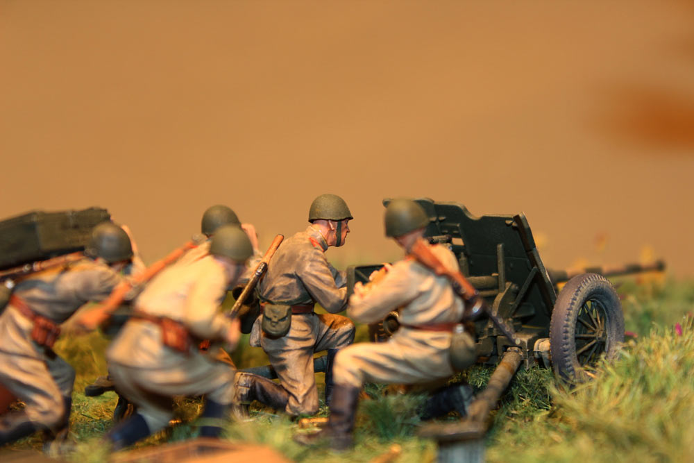 Training Grounds: Soviet 45mm AT gun and crew, photo #6