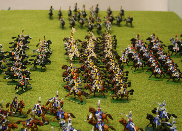 Training Grounds: Borodino. Charge of the Guard Cuirassiers brigade