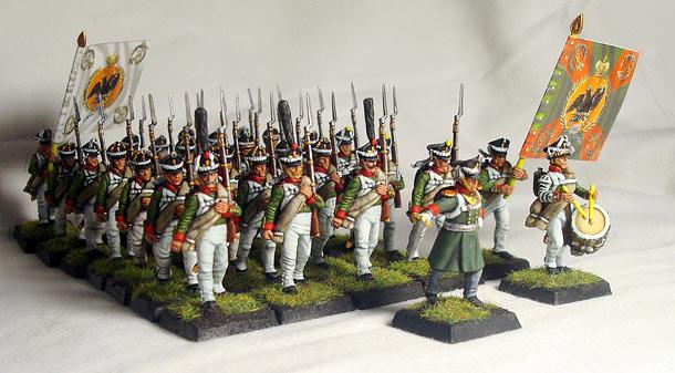 Figures: Simbirsky infantry regt., 1812-14