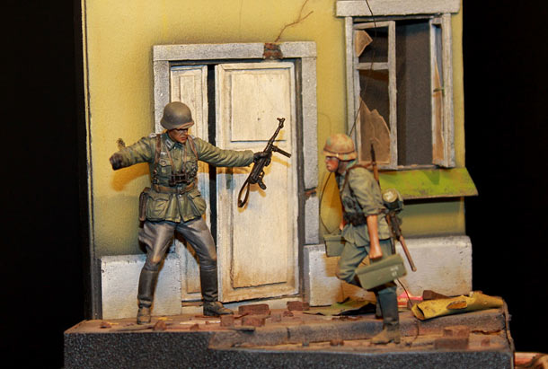 Dioramas and Vignettes: Military labour