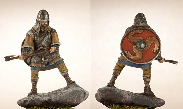 Figures: Viking, X cent.