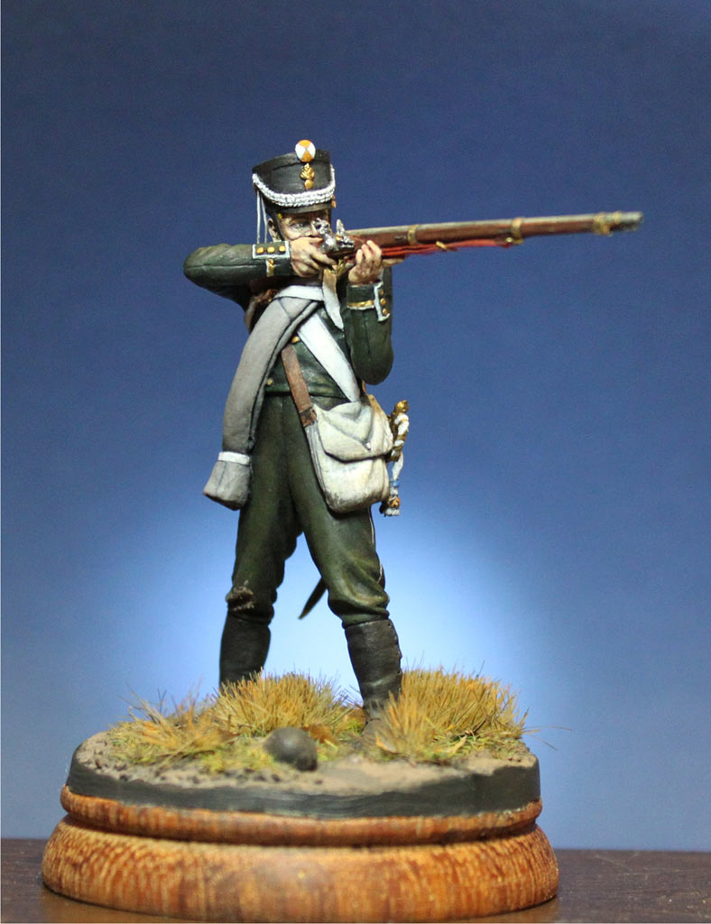 Figures: NCO, 1st Marine regt., October 1812, photo #1