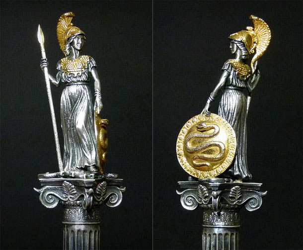 Sculpture: Athena