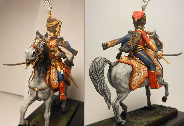 Training Grounds: Mounted colonel 6th of Hussars, 1809