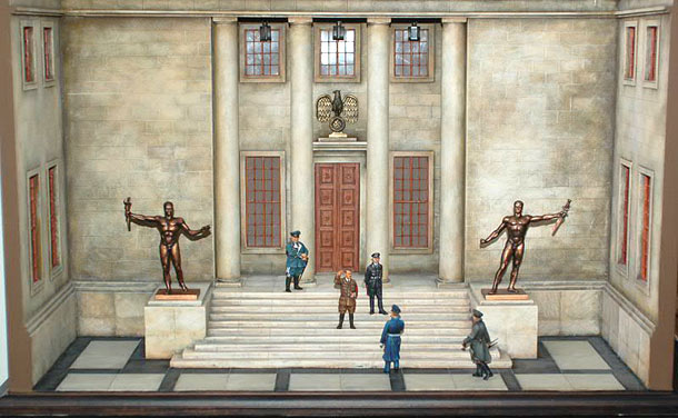 Dioramas and Vignettes: Reich Chancellery