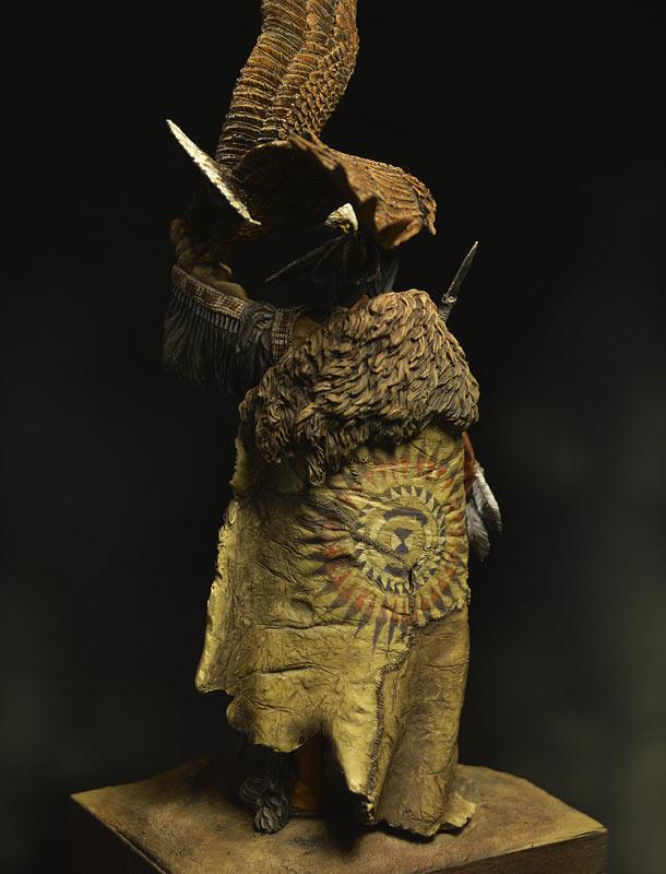 Figures: Dakota warrior, photo #4