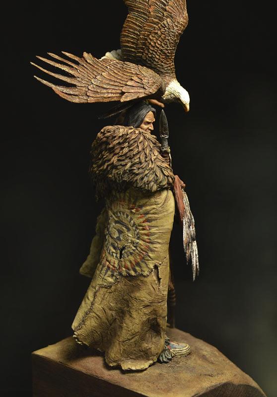 Figures: Dakota warrior, photo #5