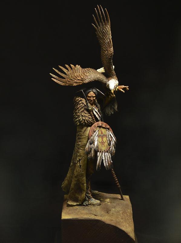 Figures: Dakota warrior, photo #7