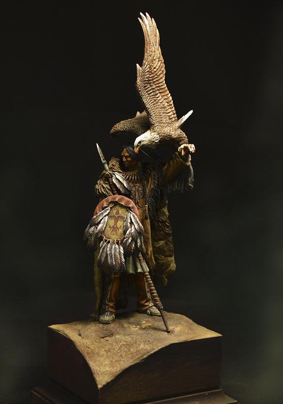 Figures: Dakota warrior, photo #8
