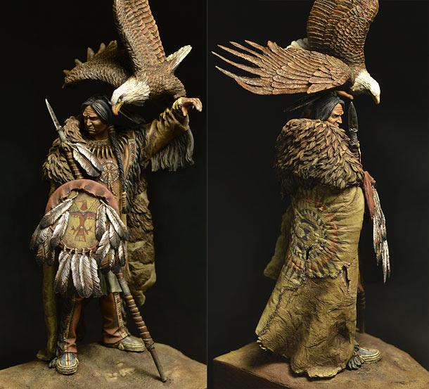 Figures: Dakota warrior