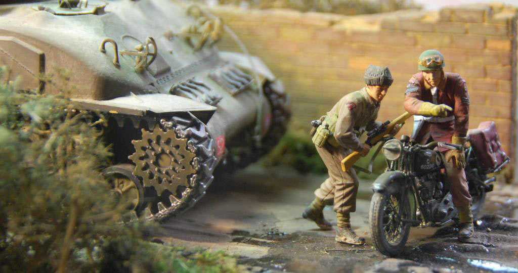 Dioramas and Vignettes: In the bocages, photo #4