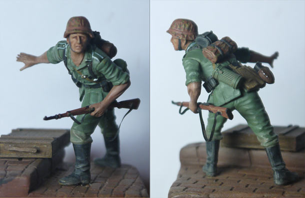 Training Grounds: German infantryman