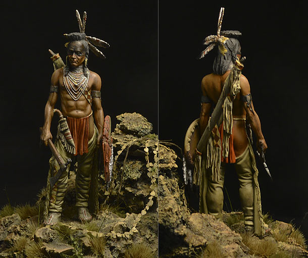 Figures: Blackfoot warrior