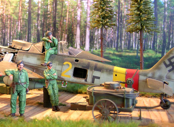 Dioramas and Vignettes: Spring 1945
