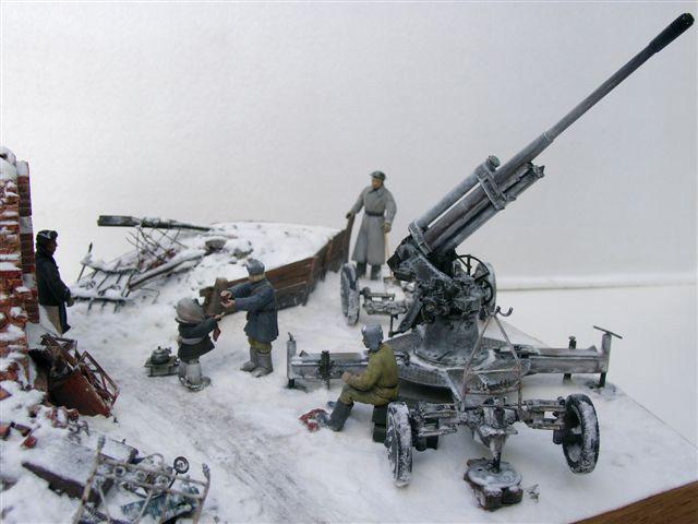Dioramas and Vignettes: AA Gun Crew, Leningrad, 1942, photo #1