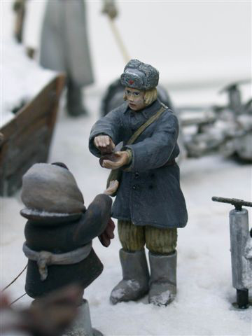 Dioramas and Vignettes: AA Gun Crew, Leningrad, 1942, photo #16