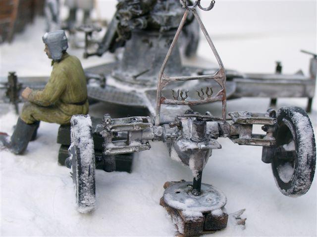 Dioramas and Vignettes: AA Gun Crew, Leningrad, 1942, photo #19