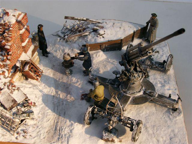 Dioramas and Vignettes: AA Gun Crew, Leningrad, 1942, photo #2