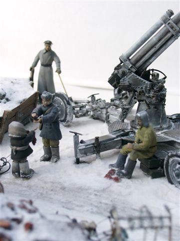 Dioramas and Vignettes: AA Gun Crew, Leningrad, 1942, photo #20