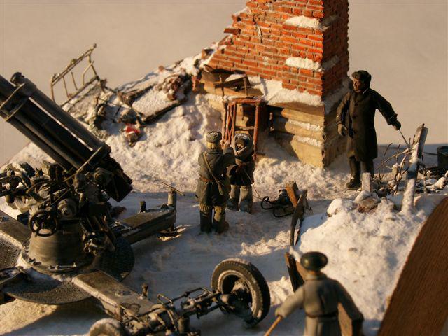 Dioramas and Vignettes: AA Gun Crew, Leningrad, 1942, photo #4