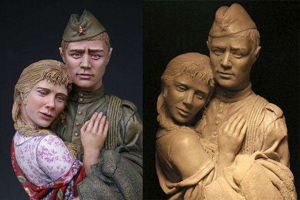 Sculpture: Promise me to come back