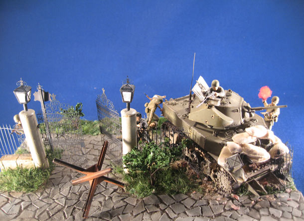 Dioramas and Vignettes: The Evacuation