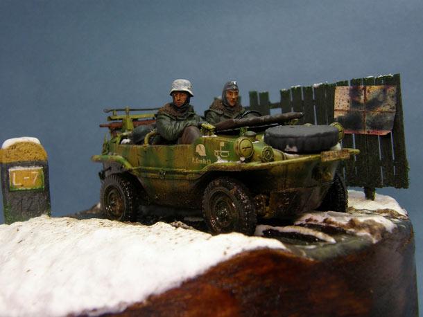 Dioramas and Vignettes: Schwimmwagen Type 166